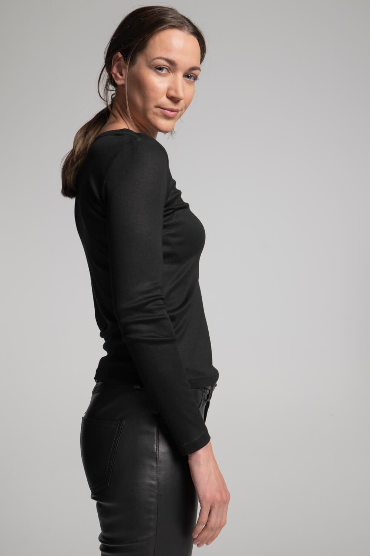 Basic Langarmshirt | Damen Langarmshirt | arrivato