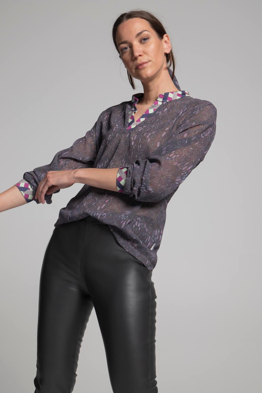 Damen Bluse bedruckt | Damen Oberteil | arrivato