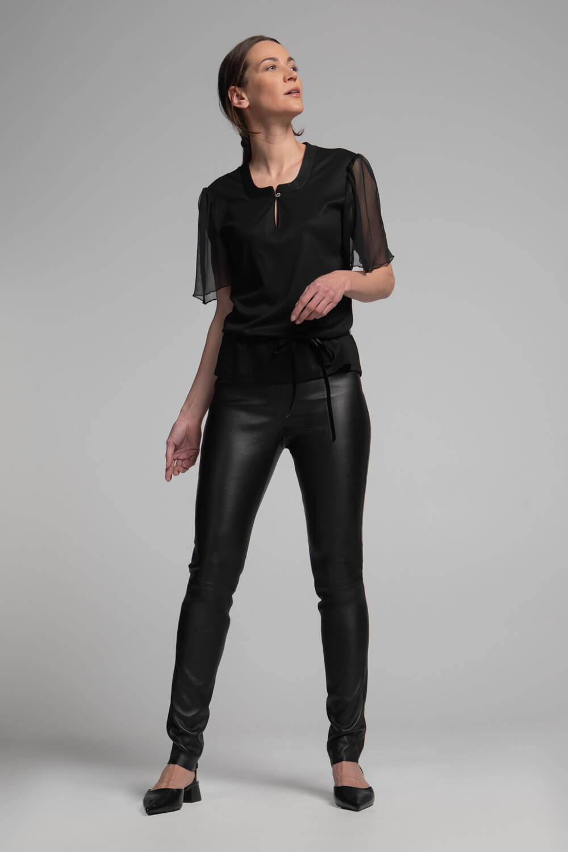 Lederleggings | enge Lederhose | Echtlederhose Damen | Damenhose aus Leder | arrivato