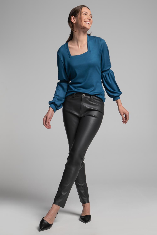 Damen Leder-Jeans   Nappaleder   Echtlederhose Damen   arrivato